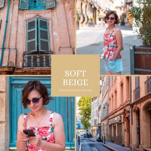 Soft Beige mobile preset