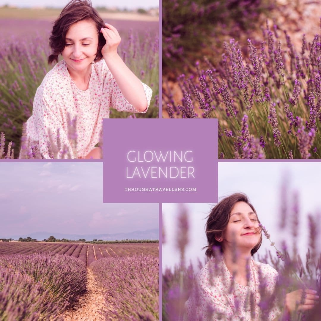 Glowing Lavender mobile preset
