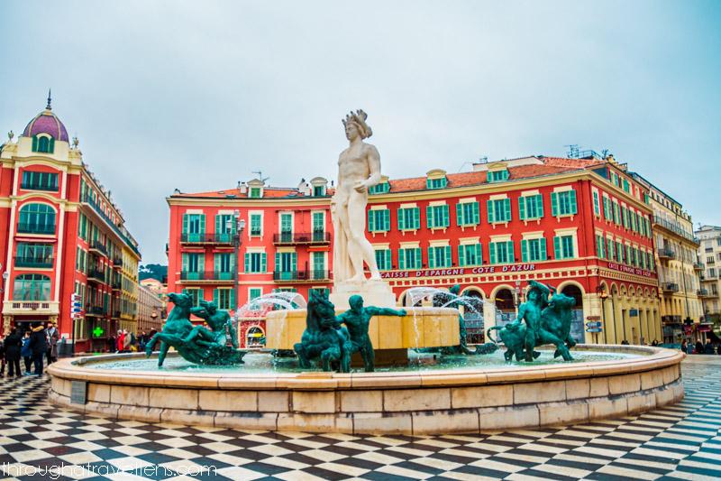 Fontaine du Soleil, Nice