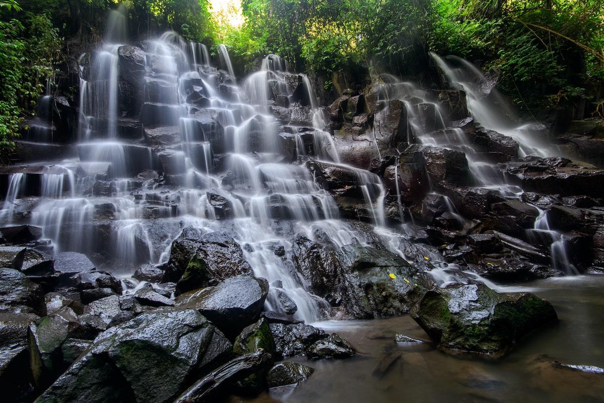 Air Terjun Kanto Lampo waterfall in Bali