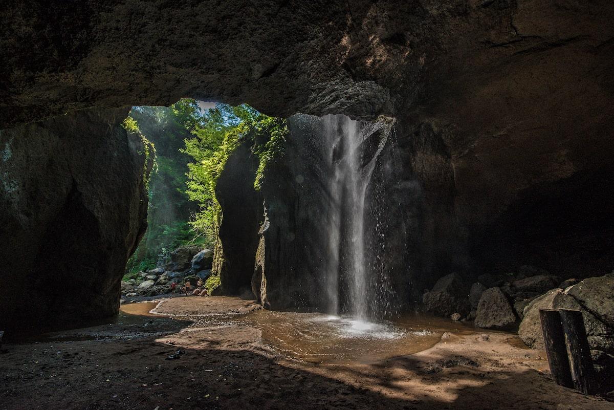 Goa Raja waterfall near Udub