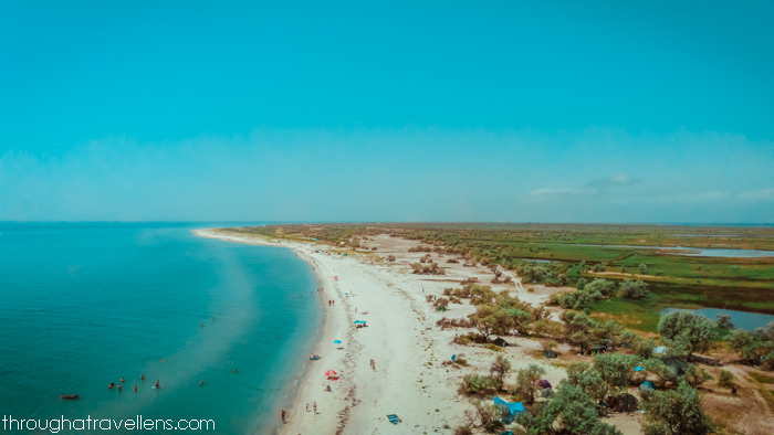Ukrainian Maldives — Dzharylhac Island — view from the lighthouse