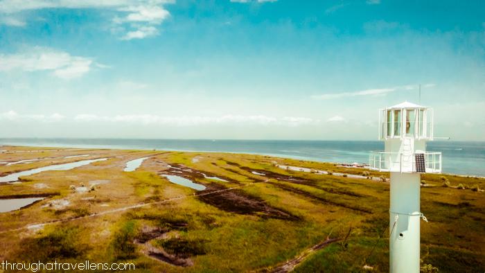 Salt lakes of Dzharylhach Island