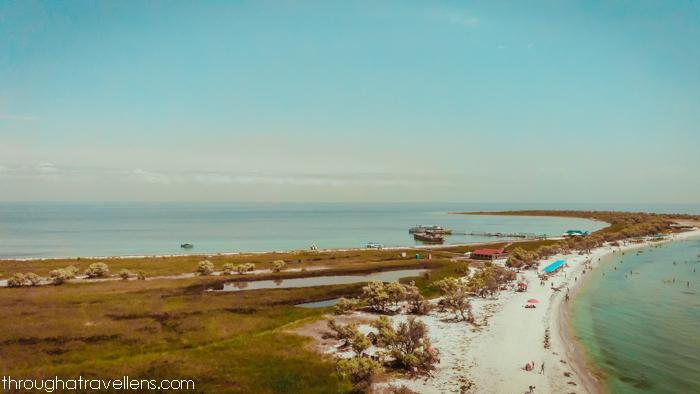 Camping on Dzharylhach Island, Ukraine